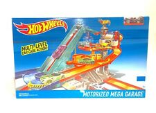 Mattel Hot Wheels MOTORIZED MEGA GARAGE Track Set