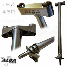 "Honda TRX 450R  Steering Stem  +2""  Chromoly Chromed   Alba Racing   218-SS-728"