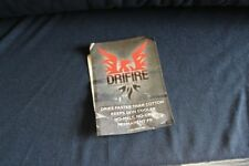 Drifire Ultra-Lightweight BLACK  Fabric Fire Resistant BTY
