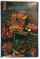 1990 Bay Street Restaurant Chain Large Heavy Original Vintage Menu