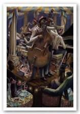 Swingin' Limited Edition John Holyfield African American Art Print 24x36