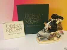 Harmony Kingdom Original Box Figurine Nib Easy Slider Snowman Penguin Motorcycle