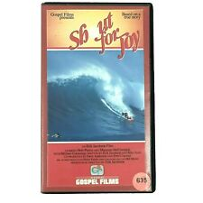 New listing Shout For Joy Movie VHS 1983 Based on True Story of Rick Irons, Surfer