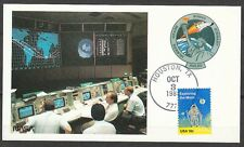 United States 1985 Oct 3 space Maxi Card Shuttle Atlantis STS-51-J launch Housto