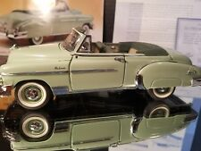 Franklin Mint 1950 Chevy Styleline Deluxe Convertible 1:24 Scale Diecast Car