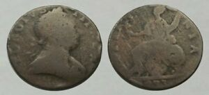 ☆ AWESOME !! ☆ 1773 King George III Revolutionary War Coin ☆ Very Good !!