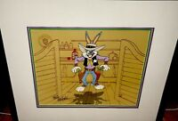 bugs bunny cel warner brothers showdown signed friz freleng edtion art cell