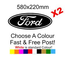 LARGE Ford Logo Sticker Decal Vinyl Car Van Lorry Motorcycle 580mm x2
