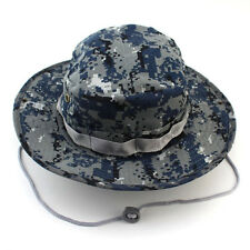 Summer Men's Army Bucket Hat Boonie Sun Hat Outdoor Hunting Fishing Military Cap