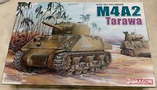 DRAGON 1:35 M4A2 TARAWA US Medium Tank Model Kit #6062 *BNIB*
