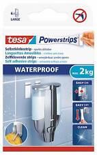 tesa Powerstrips Strips LARGE, wasserfest, 6 Strips