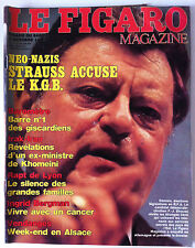 Le FIGARO Magazine du 4/10/1980; Brigitte Fossey/Oury/ Ormuz/ Le K.G.B accusé
