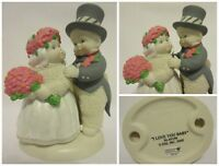 """Department 56 Snowbabies 2002 Let's Pretend """"I Love You Baby"""" 56.691898"""