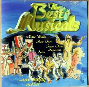 The Best of Musicals - Show Boat, Chicago, Cats, Jesus Christ u.a. - CD