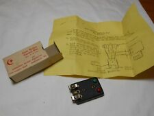 HO TRAIN VINTAGE CRESCENT MODEL PRODUCTS PUSH BUTTON SWITCH CONTROL NEW IN BOX!