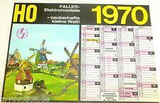 Faller Modellbau Kalender 1970 Faller Elektromodelle zauberhafte kleine Welt   å