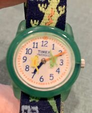 Timex Indiglo Kids Watch, Time Teacher, Geckos, Indiglo, Adjustable Soft Band