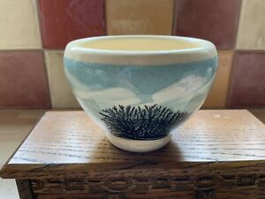 Boscastle Pottery Mocha Ware Roger Irving Little Studio Pottery Sugar Bowl