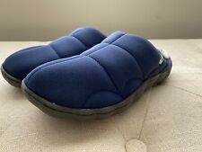 Clarks Cloudsteppers Mule Clog Rest Slipper Navy 8 M
