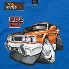 Men's T-shirt, Ford Falcon GTHO Orange, Aussie muscle cars, AS Colour shirt.