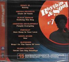 CD álbum: CompilacióN: Rhythm & Soul Nº 7 . El Poligrama. P