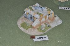 25 mm bunker Scenery terrain (comme photo) (14844)