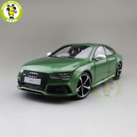 1/18 Audi RS 7 RS7 KengFai Diecast Metal Model Car Toys Boys Gifts Green