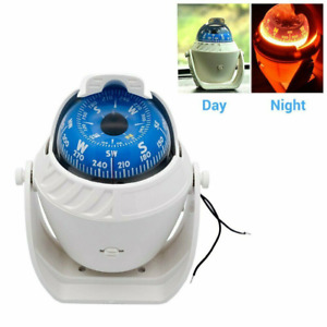 Marine Boat Navigation Compass LED Light for Sail Ship Vehicle Car Electronic