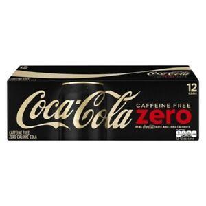Coca Cola Caffeine Free Coke Zero 12 pack