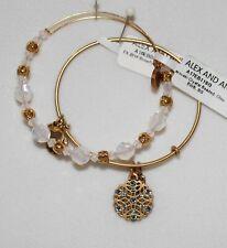 Alex and Ani Snowflake Bracelet Set Of 2 Swarovski Holiday Edition Bangle