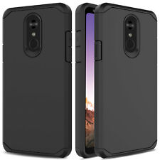Hybrid Dual Layer Shockproof Armor Hard Phone Case Cover for LG Stylo 4/Q Stylus