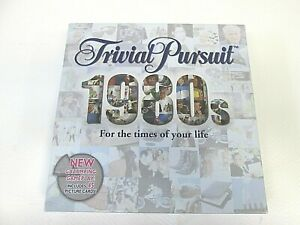 Trivial Pursuit 1980s Edition by Parker Hasbro (2000) Complete(AT)