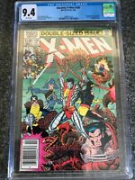 Uncanny X-Men #166 CGC 9.4 1st Lockheed Marvel Comics 1983 WP Newsstand