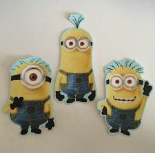 Minions - Iron On Fabric Appliques