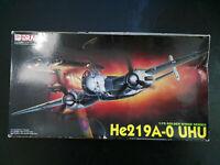 """Heinkel He-219, A-0, """"UHU"""", Deutsche Lw, Nachtjäger, Dragon, Scale:1/72,Kit:5005"""