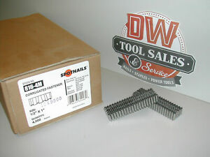 """Spotnails 816 1"""" x 1/2"""" Length  Corrugated Fasteners"""