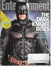 CHRISTIAN BALE / BATMAN / THE DARK KNIGHT January 2012 ENTERTAINMENT WEEKLY