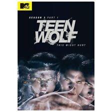 Teen Wolf MTV ~ Complete Third Season 3 Three, PART 1 ~ NEW 3-DISC DVD SET