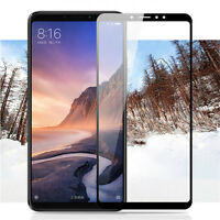 For Xiaomi Mi Max 3 Full Cover Tempered Glass Screen Protector Anti-scratch 9H @