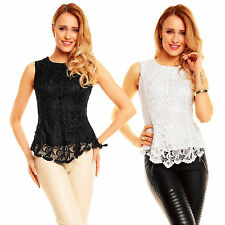 Damen-Blusen Kurzarm Damenblusen, - tops & -shirts ohne Kragen für die Freizeit