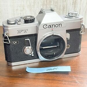 (For Parts For Repair) Canon FT QL 35mm 1990s SLR Camera Japan 00085