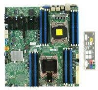 Supermicro X10DRH-i Motherboard Intel Dual Socket R3 LGA2011 16 DIMMs eATX DDR4