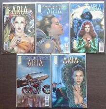 Aria Preview Issue, #1A, 2, 3, 4A ~ 5 Issue Lot/ B.Haberlin Story~ 2012 (9.2) WH