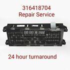 316418704 Repair Service For Frigidaire Oven / Range Control Board  photo