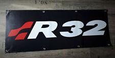 Golf R32 Werbe Banner für VW Fans MK2 MK3 MK4 / HGP turbo