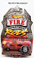 Hot Wheels Fire Rods Series 1 '69 El Camino Torrance CA FD Real Riders 2/12