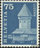 Schweiz 707y G, Phosphoreszenz rückseitig statt vorne postfrisch 1960 Städte