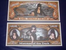 BEAUTIFUL UNC. ELVIRA  NOVELTY NOTE ONLY .25 SHIPPING FREE SHIP + FREE NOTES!