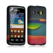 Housse coque étui gel pour Samsung Galaxy XCOVER S5690 motif LM04 + Film protect