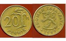 FINLANDE 20 pennia 1963